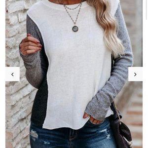 Vici Colorblock Sweater, NWOT